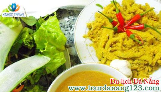 Món ăn gỏi cá khi đi du lịch Đà Nẵng