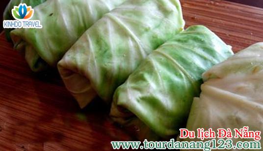 Món ăn Ram Cuốn Cải khi đi du lịch Đà Nẵng