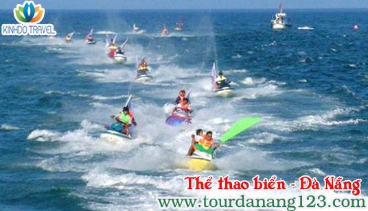 Du lịch thể thao biển - Đà Nẵng