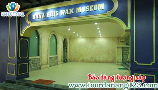 Du lịch Đà Nẵng - Bảo tàng tượng sáp tại Bà Bà Hills