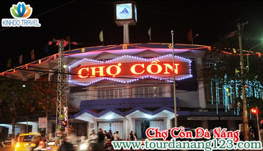 Ghé thăm chợ Cồn Đà Nẵng