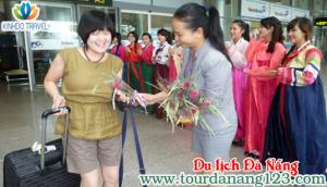 Du khách Hàn Quốc đến Đà Nẵng