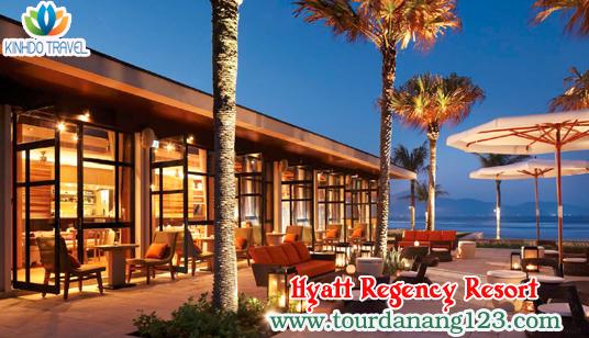 Du lịch Đà Nẵng resort & spa - Một góc Hyatt Regency