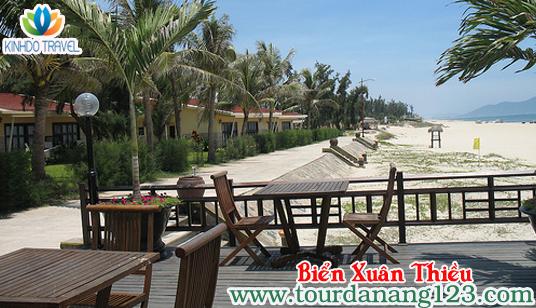 Tour du lịch Đà Nẵng giá rẻ - bãi biển Xuân Thiều