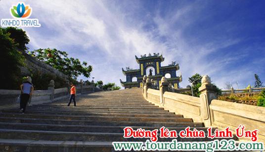 Du lịch Đà Nẵng - Đường lên chùa Linh Ứng