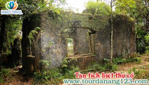 Du lịch Đà Nẵng thăm Tàn tích biệt thự cổ trên đỉnh Bà Nà