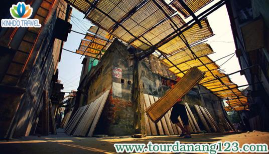 Du lich Da Nang - làng cổ Phong Nam
