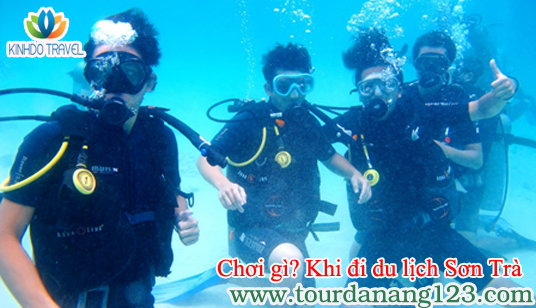 Du lịch Đà Nẵng - Khám phá lòng biển Sơn Trà
