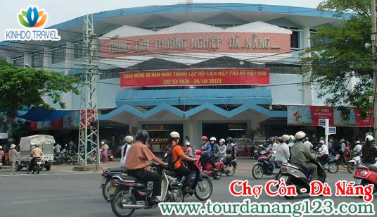 Chợ Cồn – Điểm mua sắm ấn tượng khi đi du lịch tại Đà Nẵng