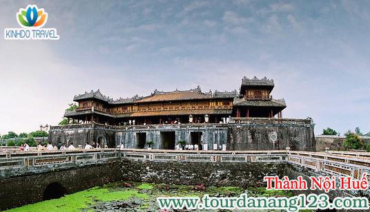 Tour du lịch Đà Nẵng - Huế tại Thành Nội Huế
