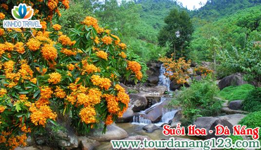 Suối Hoa điểm đến du lịch hấp dẫn tại Đà Nẵng