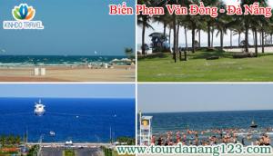 Đến với bãi biển Phạm Văn Đồng - Đà Nẵng