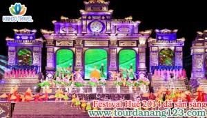 Festival Huế 2014 đã sẵn sàng trước giờ khai mạc