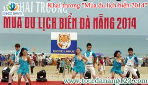 """Sôi động cùng """"Mùa du lịch biển 2014"""" tại Đà Nẵng"""