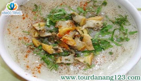 Cháo hàu món ngon trên những địa điểm du lịch Đà Nẵng