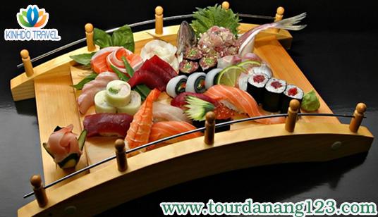 Du lịch Đà Nẵng 2014 ấn tượng với món ăn truyền thống Nhật Bản