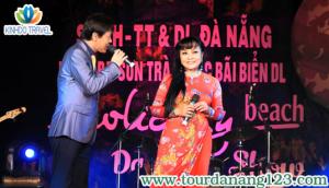 Sự góp mặt của đông đảo ca sĩ hải ngoại đã tạo ấn tượng mới cho du lịch Đà Nẵng