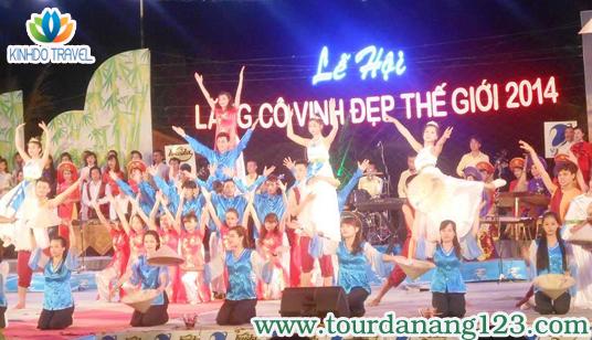 """Du lịch Đà Nẵng sôi nổi với """"Lễ hội vịnh Lăng cô đẹp nhất 2014"""""""