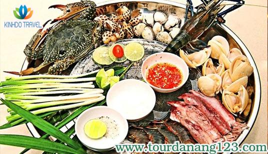 Lẩu hải sản - món ngon du lịch biển Đà Nẵng