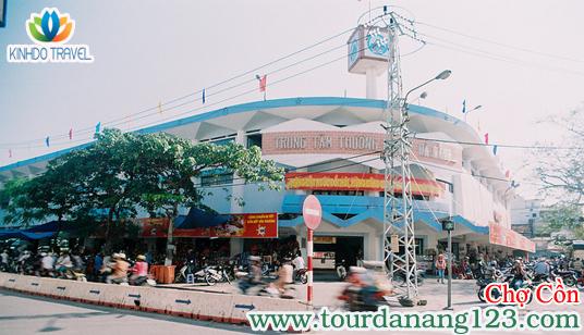 Du lịch Đà Nẵng mua sắm tại chợ Cồn
