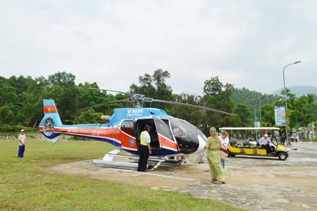 Du lịch Đà Nẵng bằng trực thăng