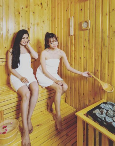 Trải nghiệm tắm khoáng Onsen tại công viên suối khoáng nóng núi Thần Tài