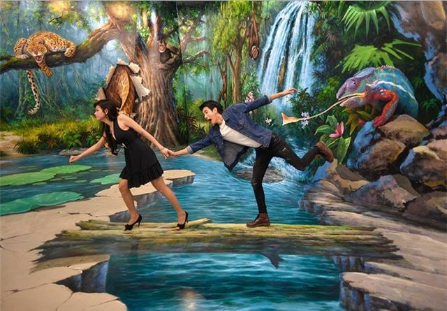 bảo tàng tranh 3D Art in Paradise Đà Nẵng