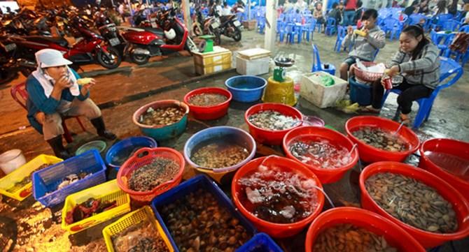 chợ hải sản đà nẵng
