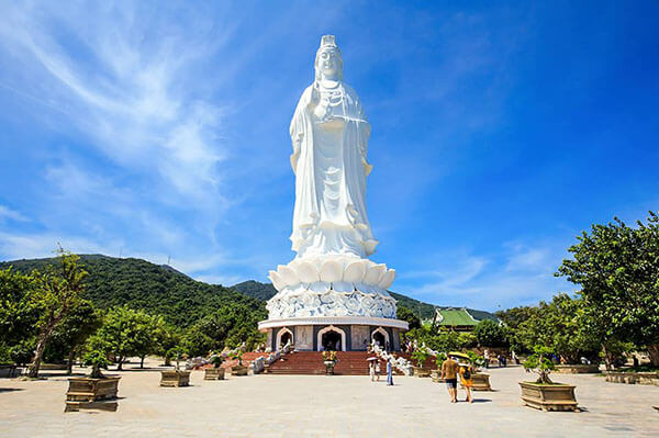 Chùa Linh Ứng có tượng Quan Thế Âm Bồ Tát cao nhất Việt Nam