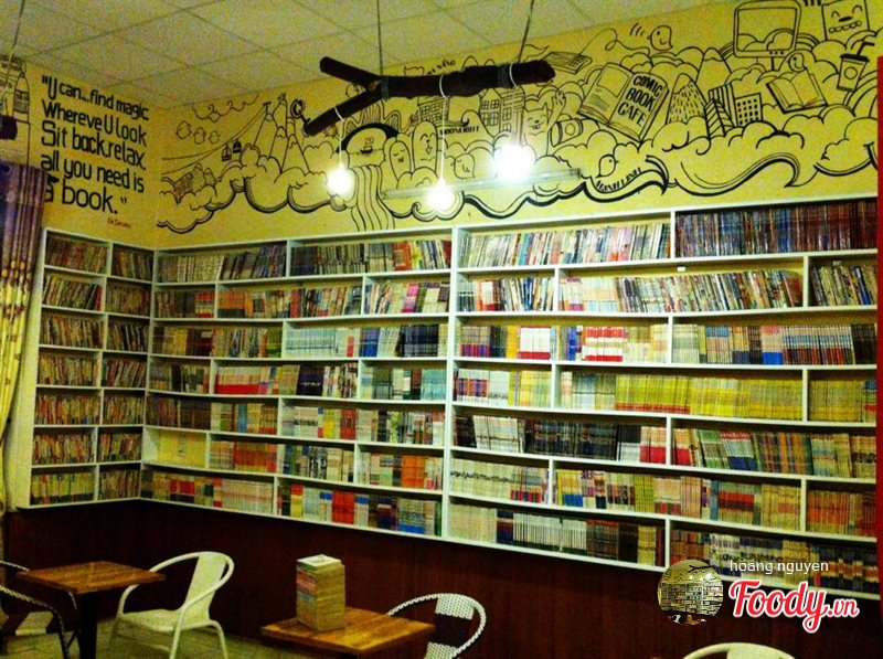 Comic Book Cafe