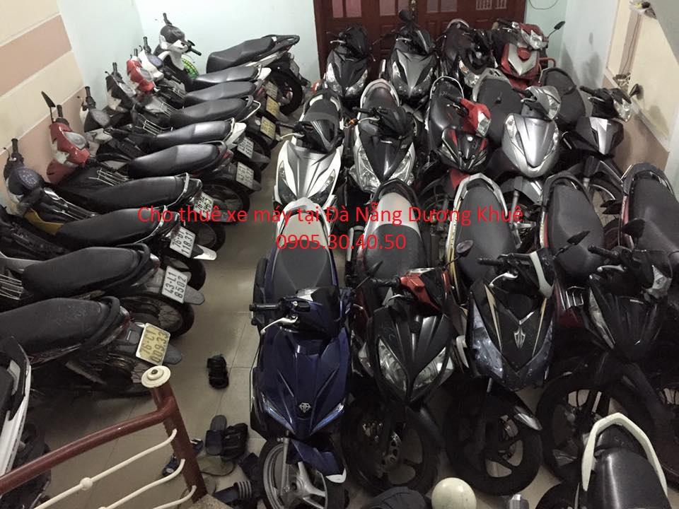Địa chỉ cho thuê xe máy giá rẻ tại Đà Nẵng