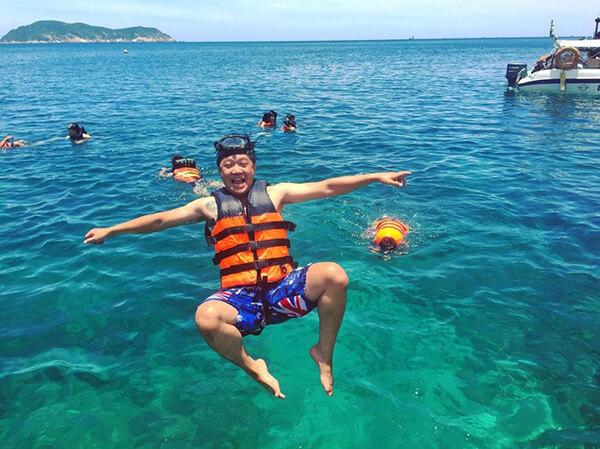 Cù Lao Chàm có rất nhiều hoạt động vui chơi thú vị và ấn tượng