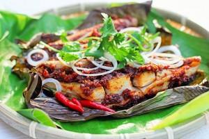 cá đuối nướng Đà Nẵng, món ngon Đà Nẵng