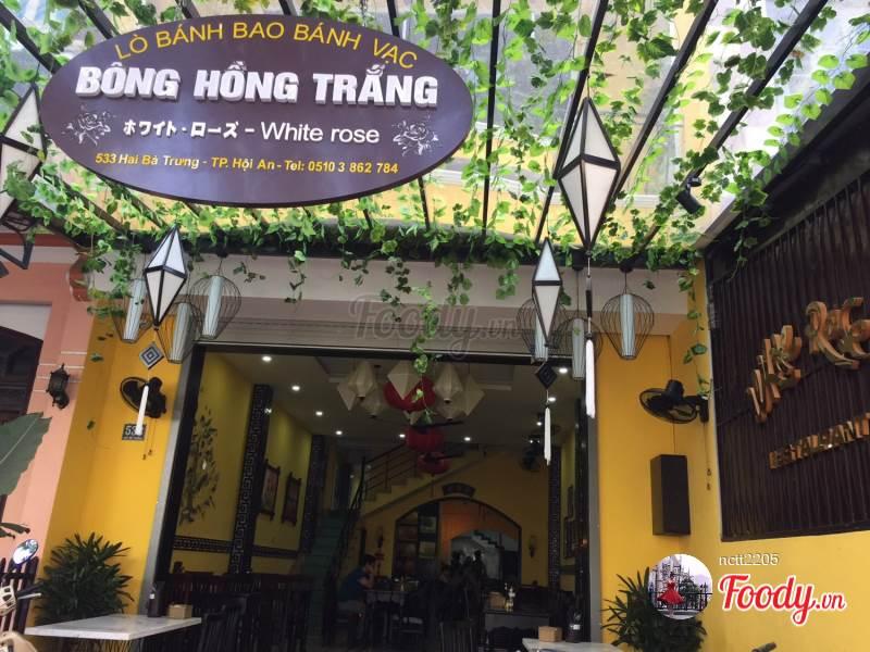 nhà hàng Bông Hồng Trắng