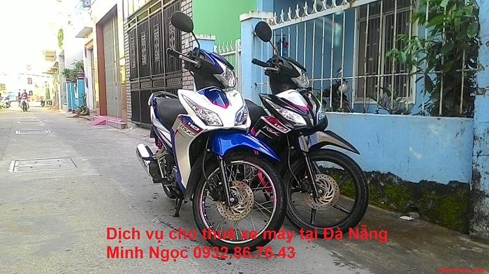 Dịch vụ cho thuê xe máy Minh Ngọc
