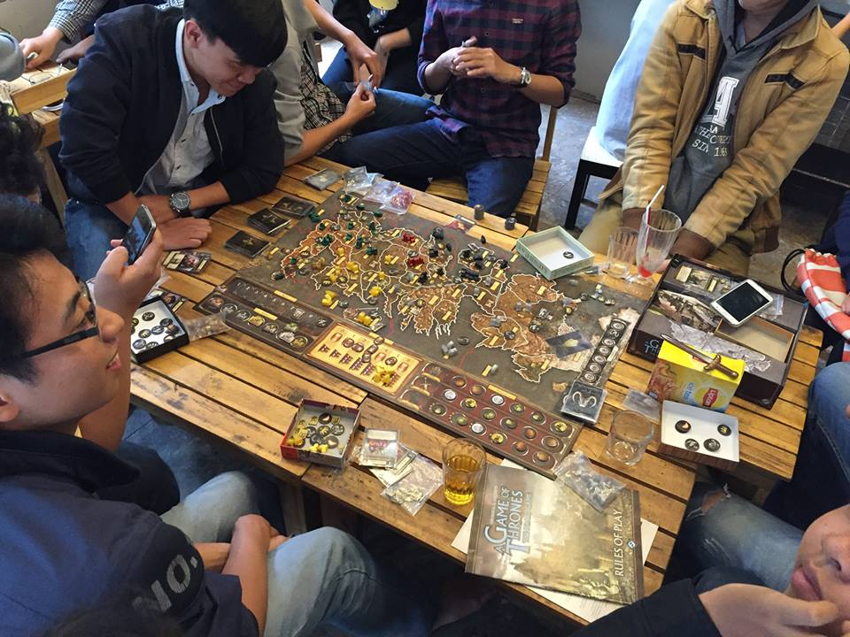 Cafe Board Game