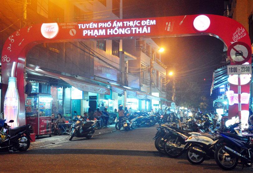 phố ẩm thực đêm Đà Nẵng