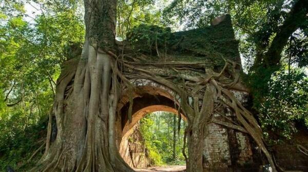 Làng Cổ Nam Phong vẫn đang lưu giữ được những hình ảnh, kiến trúc cổ truyền của làng xưa