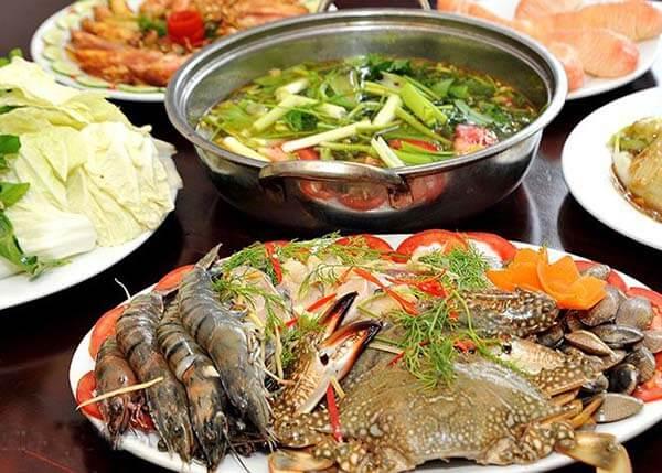 Hương vị của lẩu hải sản Đà Nẵng thơm ngon và hấp dẫn vô cùng