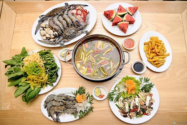 Lẩu hải sản ở Đà Nẵng