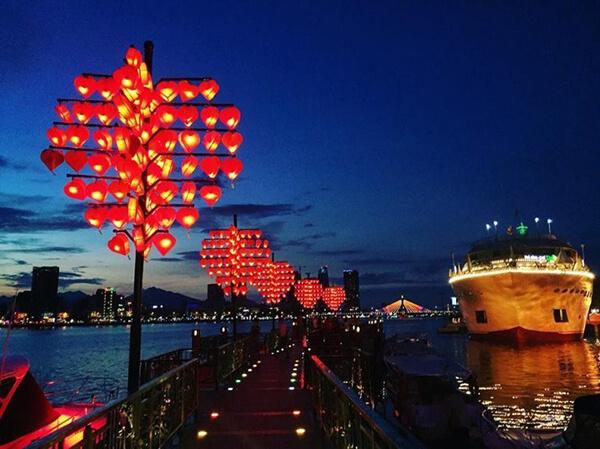Trong lịch trình du lịch Đà Nẵng 5 ngày 4 đêm tự túc bạn nhớ ghé cầu tình yêu