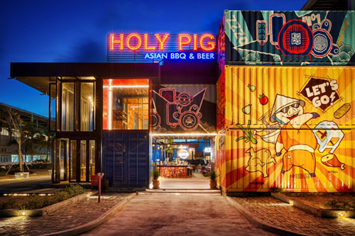 nhà hàng Holy Pig