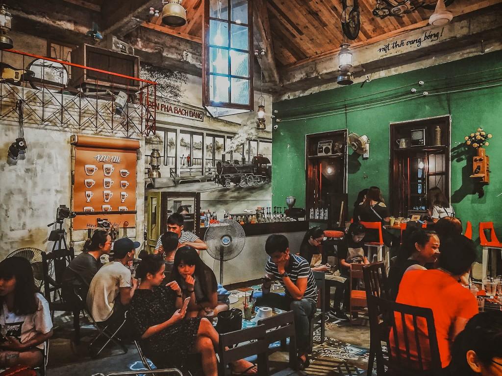 Quán cà phê ở Đà Nẵng, danang 1975